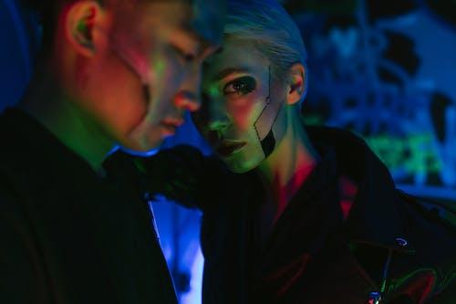 คลังภาพถ่ายฟรี ของ cyberpunk, คน, คนเอเชีย