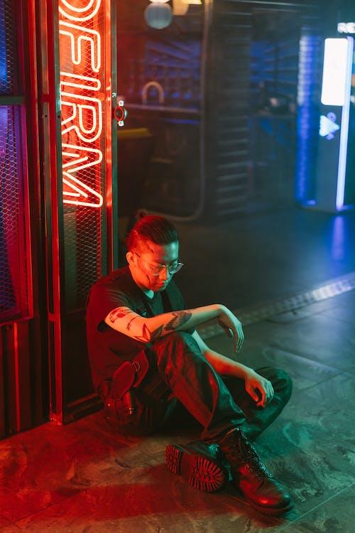 Kostenloses Stock Foto zu asiatischer mann, cool, cyber