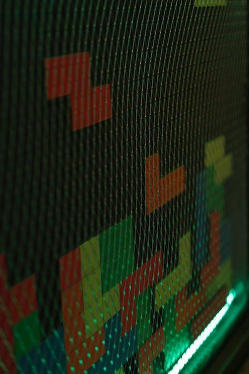 俄羅斯方塊, 牆壁, 絲網 的 免費圖庫相片