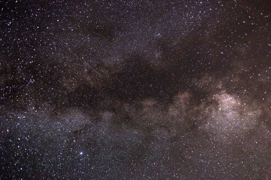 Photography of starry sky