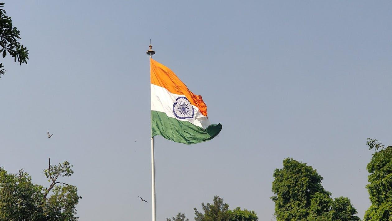 alam, bendera, India