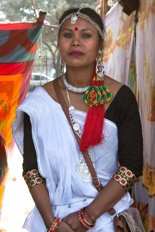 Free stock photo of nepal, Tharu dress