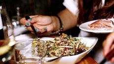 food, salad, dinner