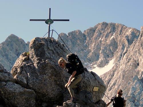 Free stock photo of mountain peaks, mountain range, mountaineering