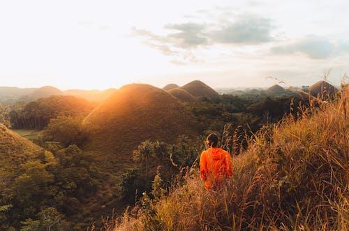 Free stock photo of adventure, hillside