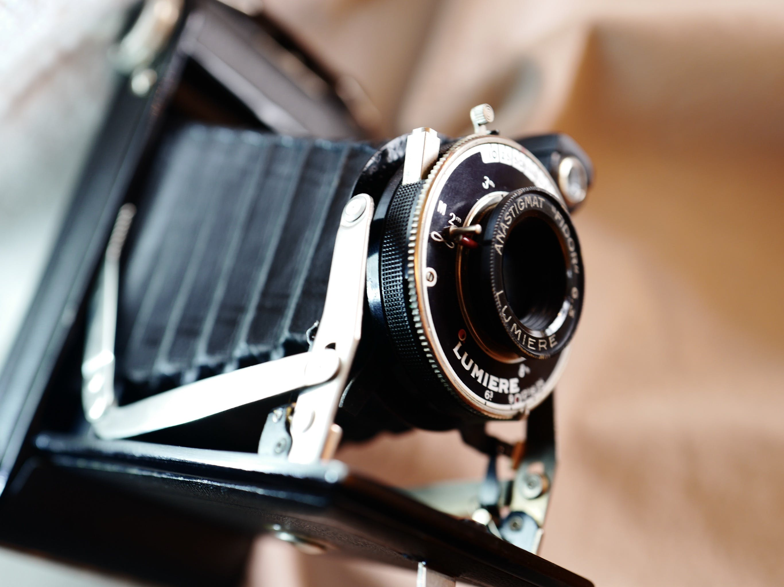 Free stock photo of old camera
