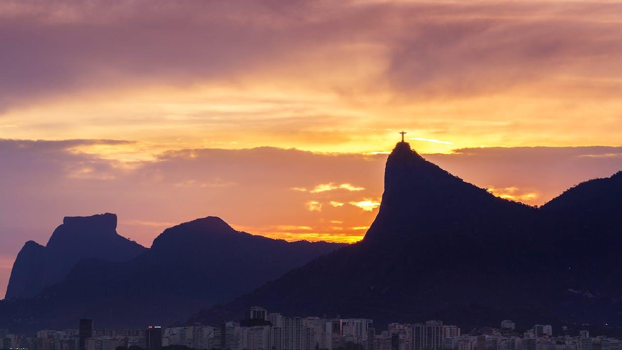 rio de janeiro, Ανατολή ηλίου, αυγή