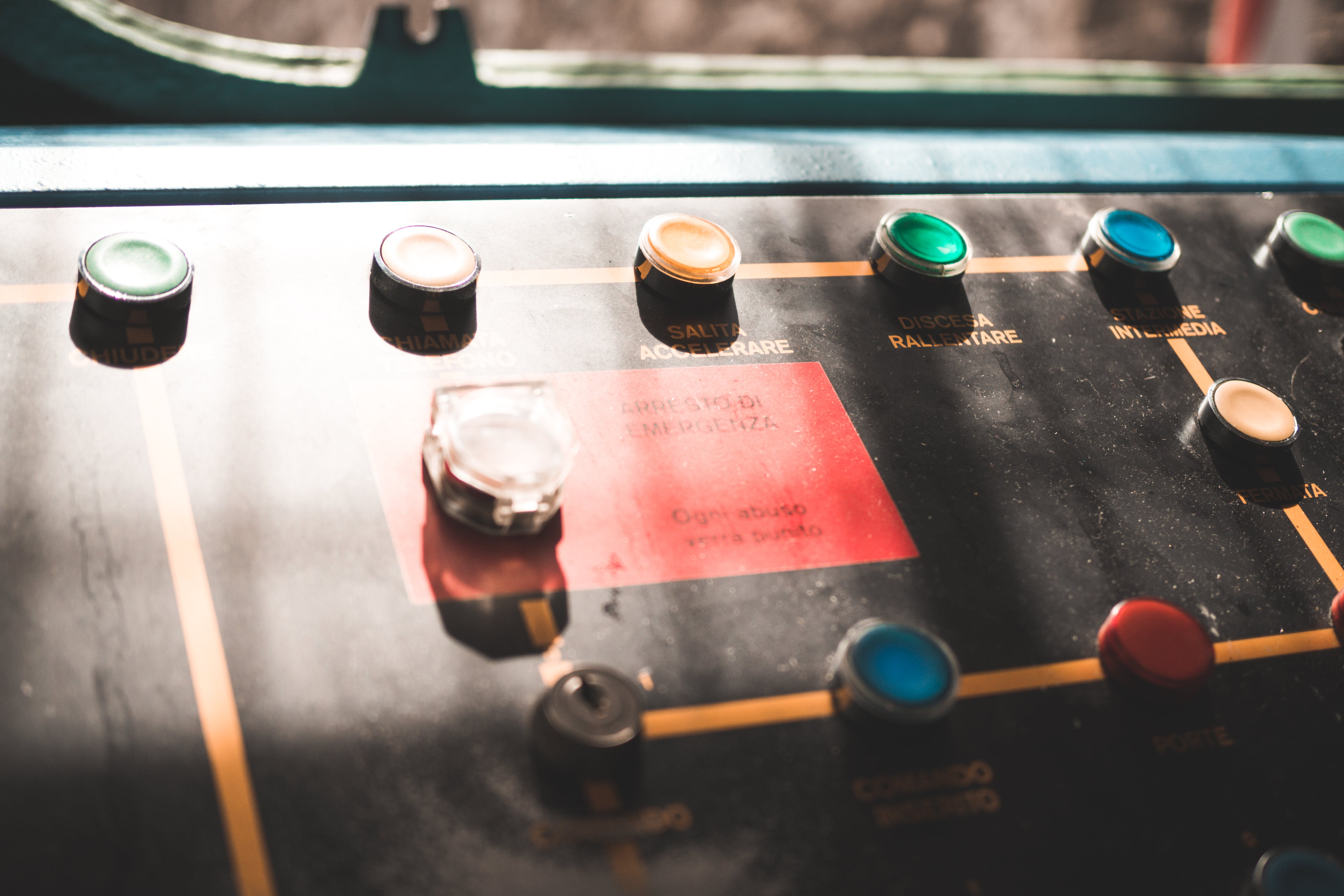Free stock photo of cable cars, knobs, machine, vintage
