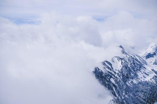 Darmowe zdjęcie z galerii z chmury, góra, krajobraz, lód