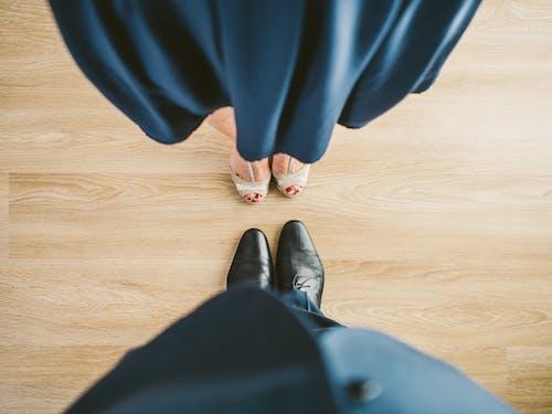 Foto profissional grátis de baile, calça, carreira, casal