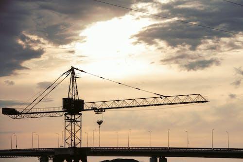 Gratis arkivbilde med arkitektur, bro, daggry