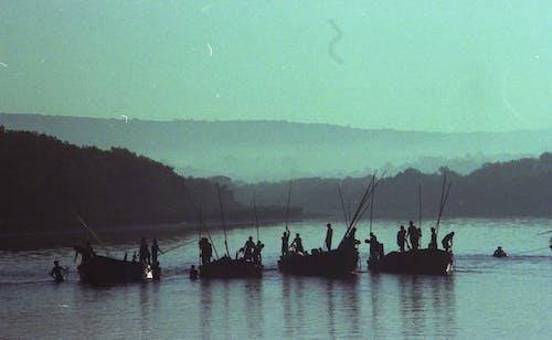Free stock photo of boats, fisherman, fishermen, fishing