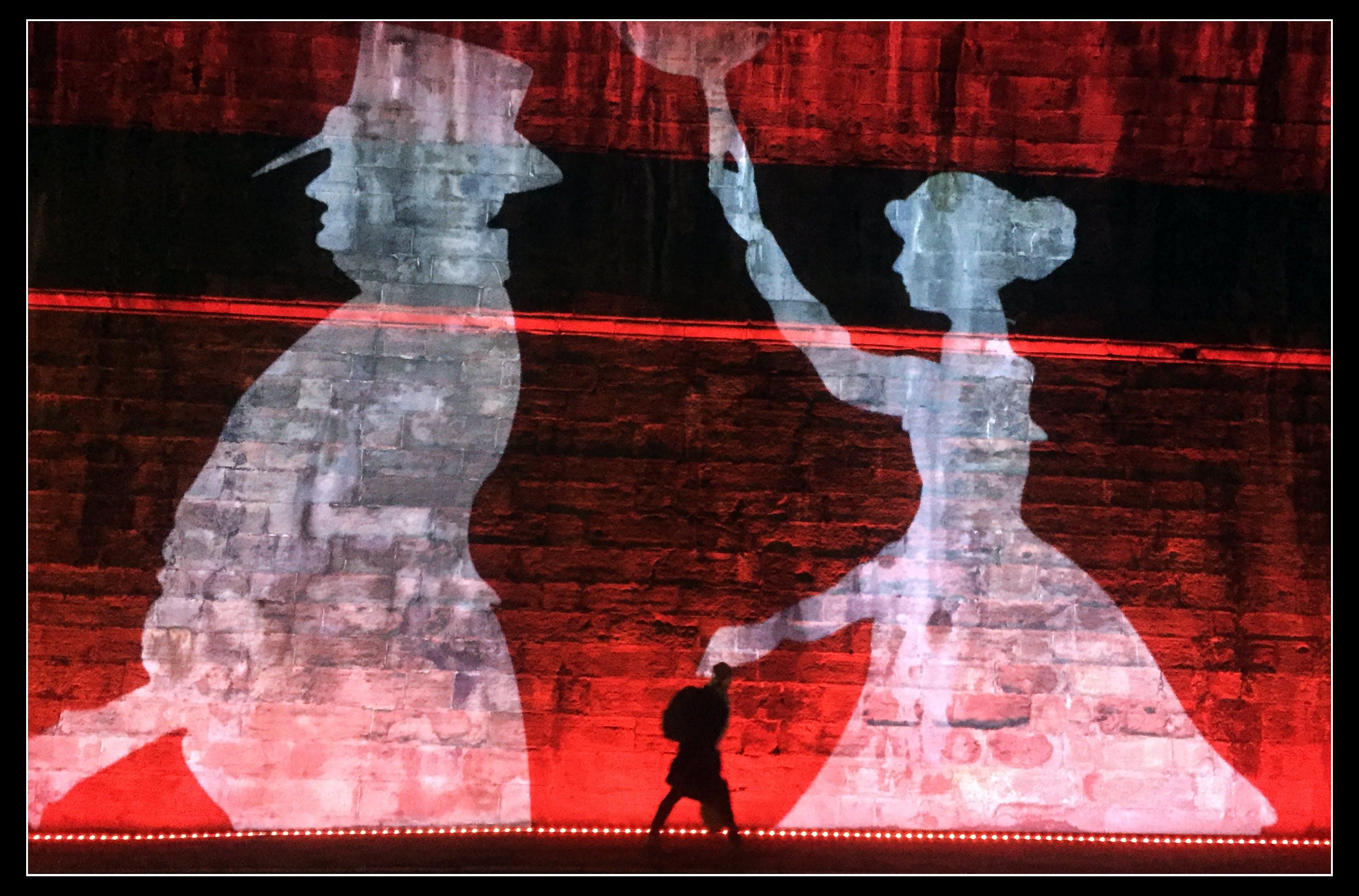 Бесплатное стоковое фото с красный, ночь, эдинбург