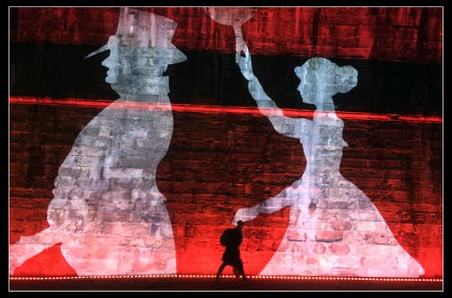 Základová fotografie zdarma na téma červená, Edinburgh, noc