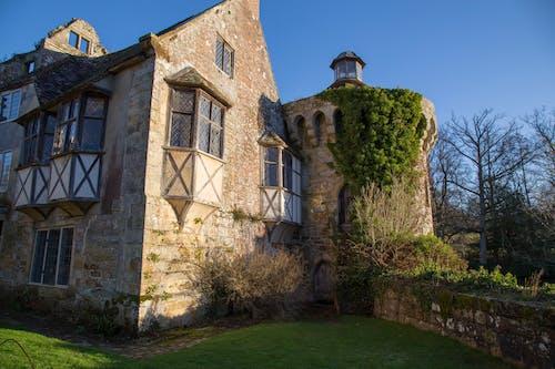 冬季, 古老的城堡, 古董 的 免费素材图片