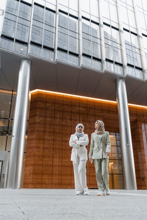 Women Wearing Hijab Walking