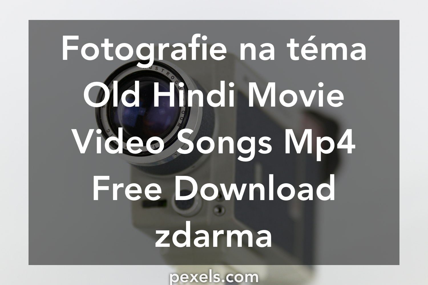 By Photo Congress || Www hindi Old Song Mp4 Download com