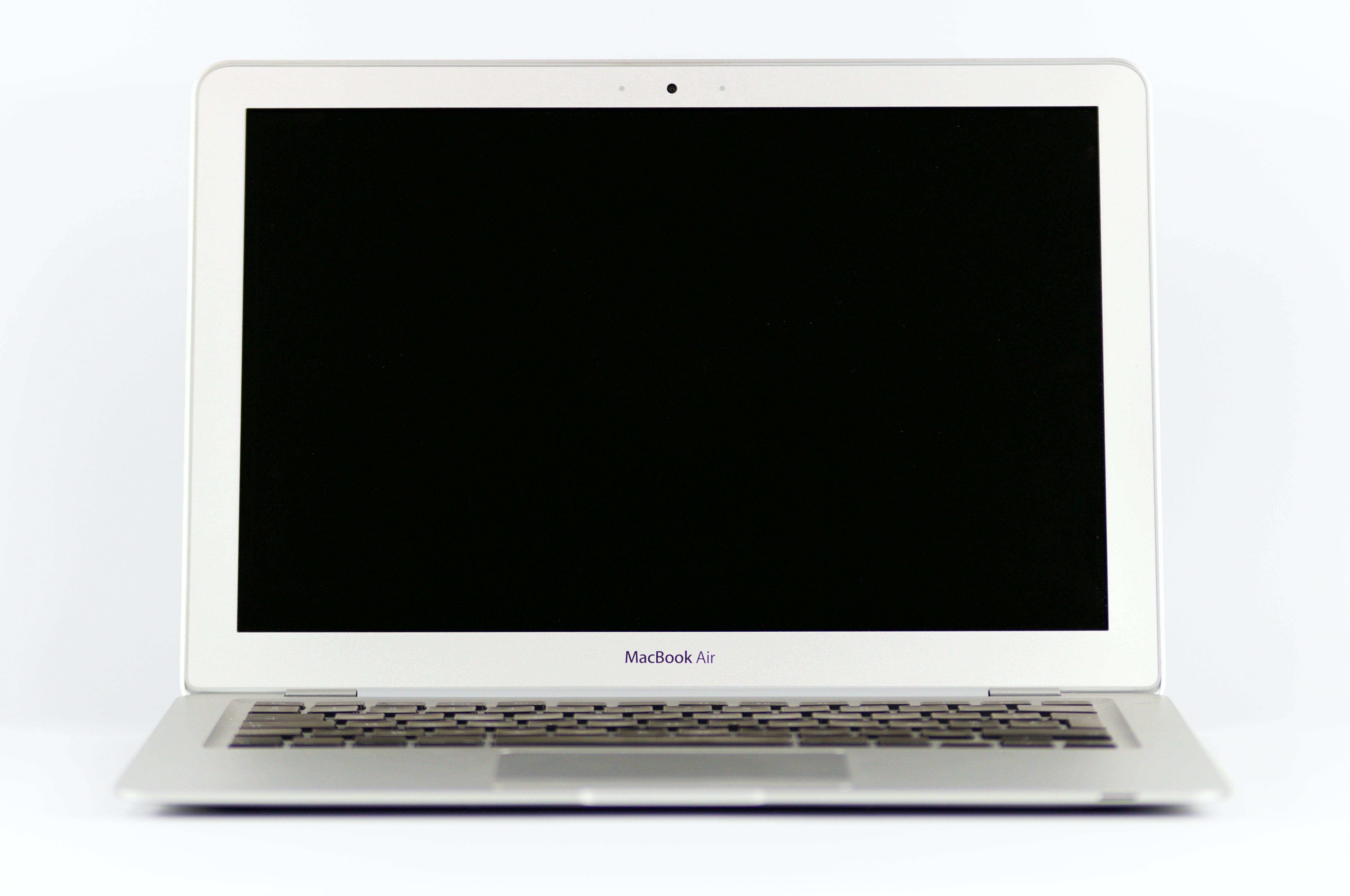 Photo of a Macbook Air