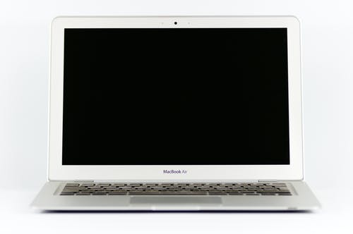 Photo of a Macbook Air