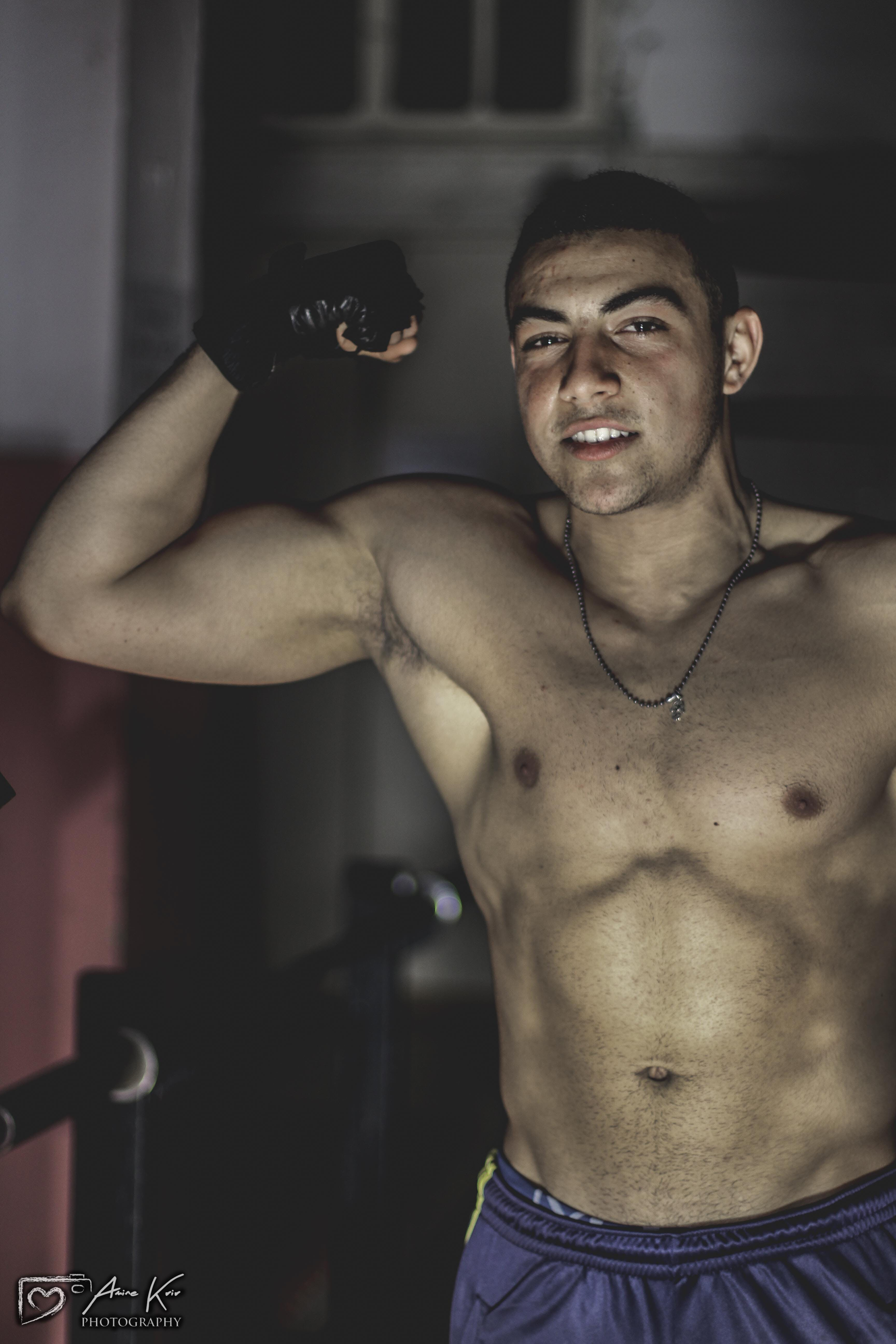 Free stock photo of muscular