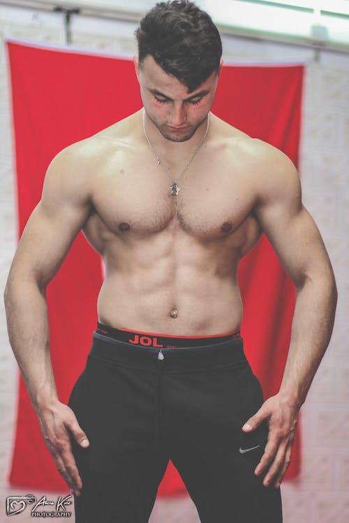 Gratis arkivbilde med muskulær