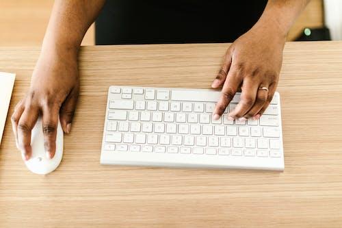 Foto stok gratis bisnis, kerja, keyboard