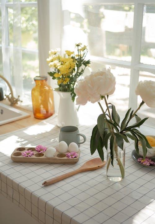 Fotobanka sbezplatnými fotkami na tému dekorácia, domáci interiér, estetický