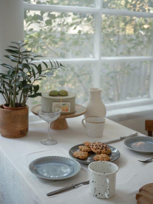 Fotobanka sbezplatnými fotkami na tému cookies, domáci interiér, estetický