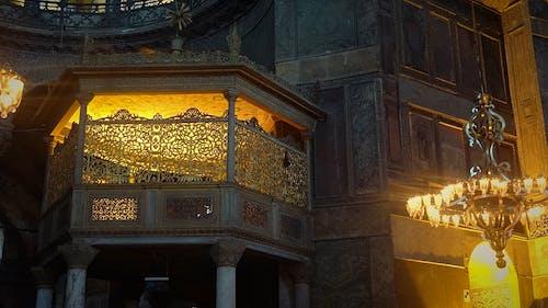 Foto profissional grátis de árabe, arquitetura, candelabros, cores