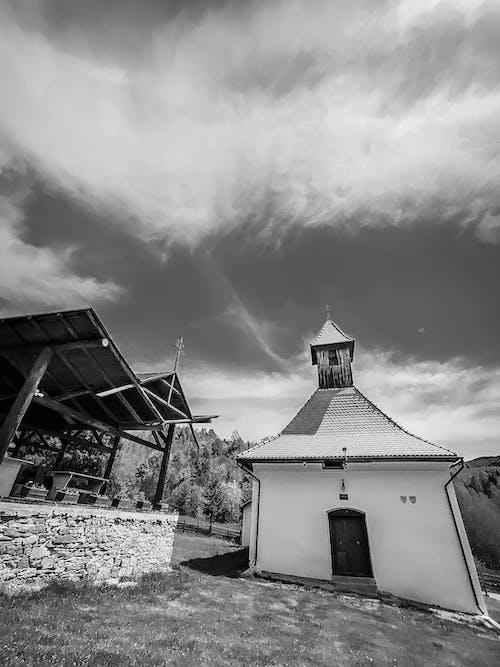 Free stock photo of black, church, church building