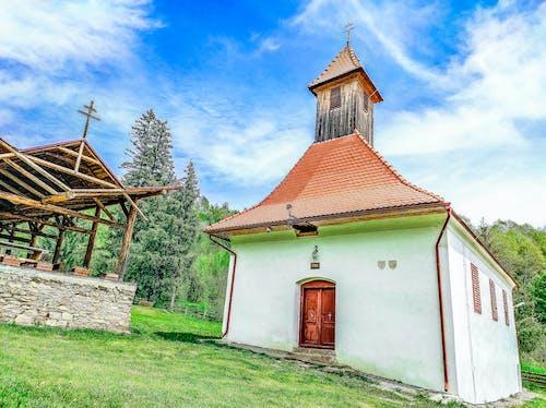 Free stock photo of beautiful colors, blue, church