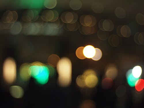 Free stock photo of blur, city lights, colorful, lights
