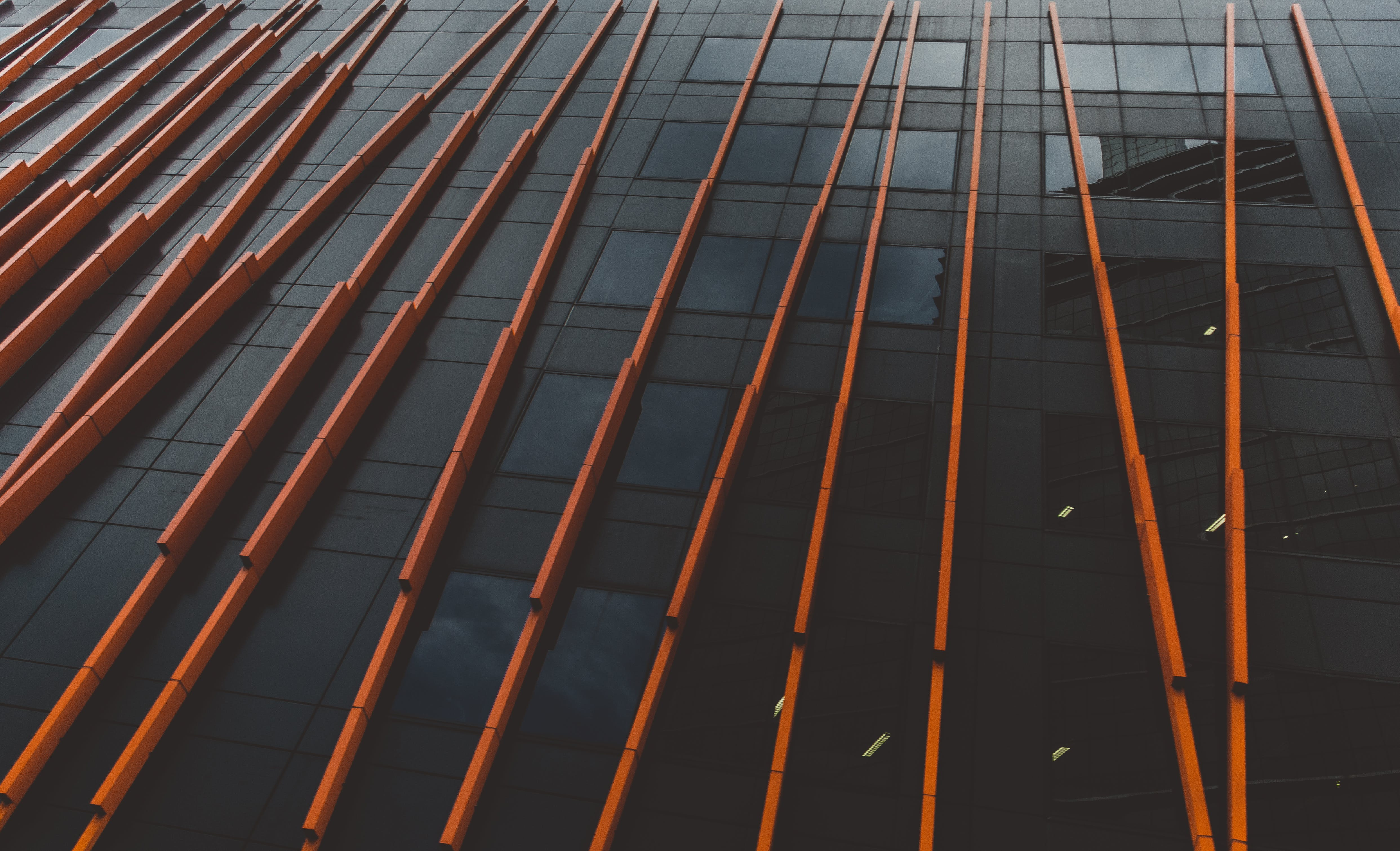 Low-angle Photography of Glass Building