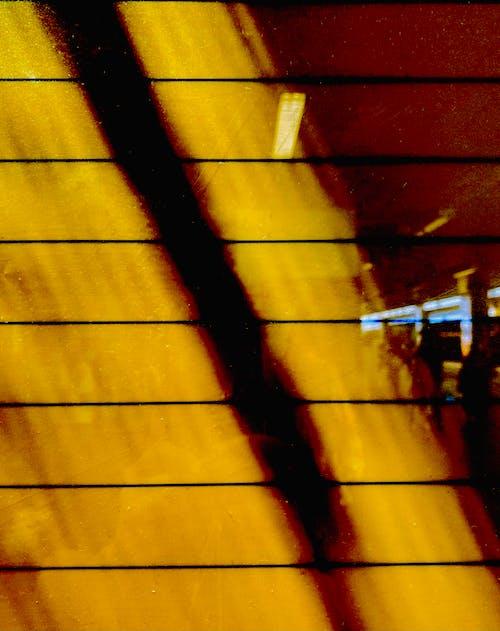 Free stock photo of reflections, yellow