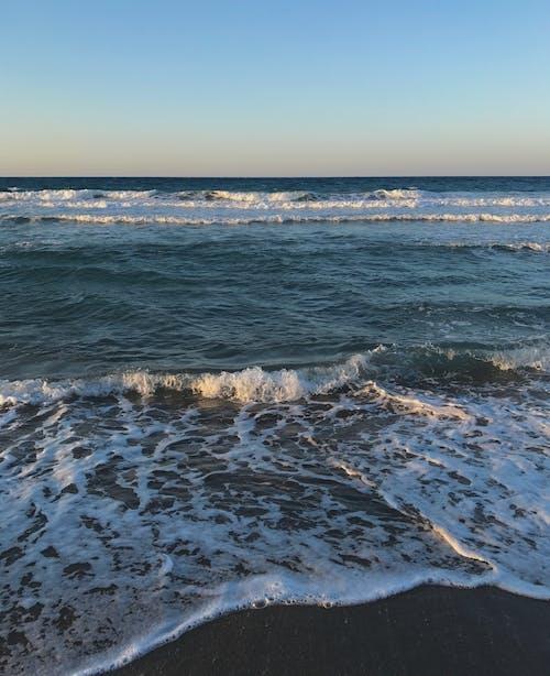 Ảnh lưu trữ miễn phí về bờ biển, đại dương sâu thẳm, Hoàng hôn, màu xanh da trời