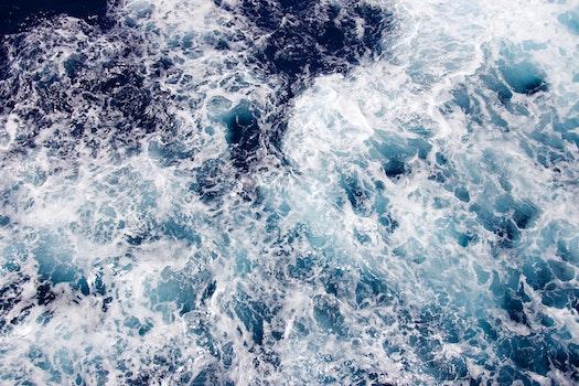 Kostenloses Stock Foto zu meer, wasser, ozean, wellen