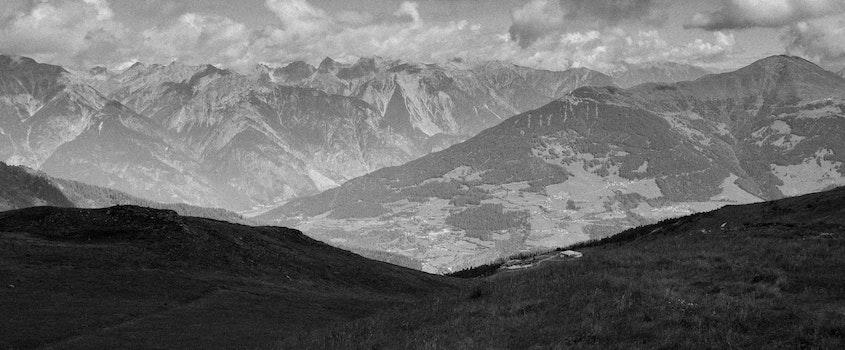 Landscape Photo of Snow Mountains