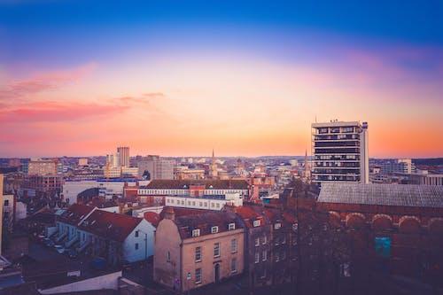 Gratis lagerfoto af arkitektur, by, bygninger, himmel