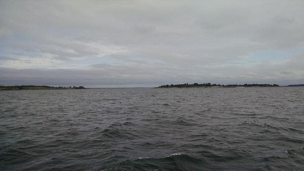 Free stock photo of ocean, wind, chop, swells