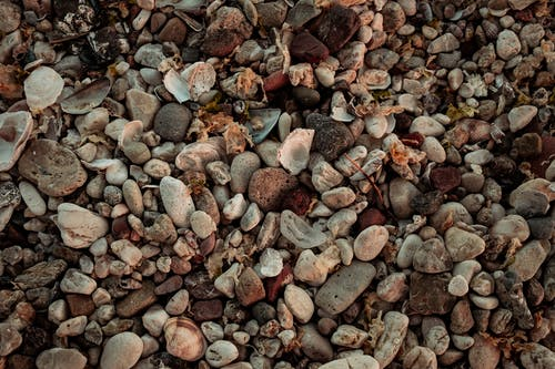Gray and Brown Stones