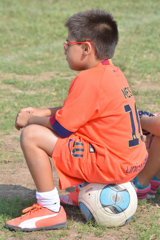 Free stock photo of ball, football, kid, soccer