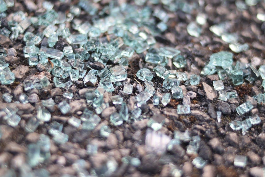 Free stock photo of ball shaped, batch, broken glass