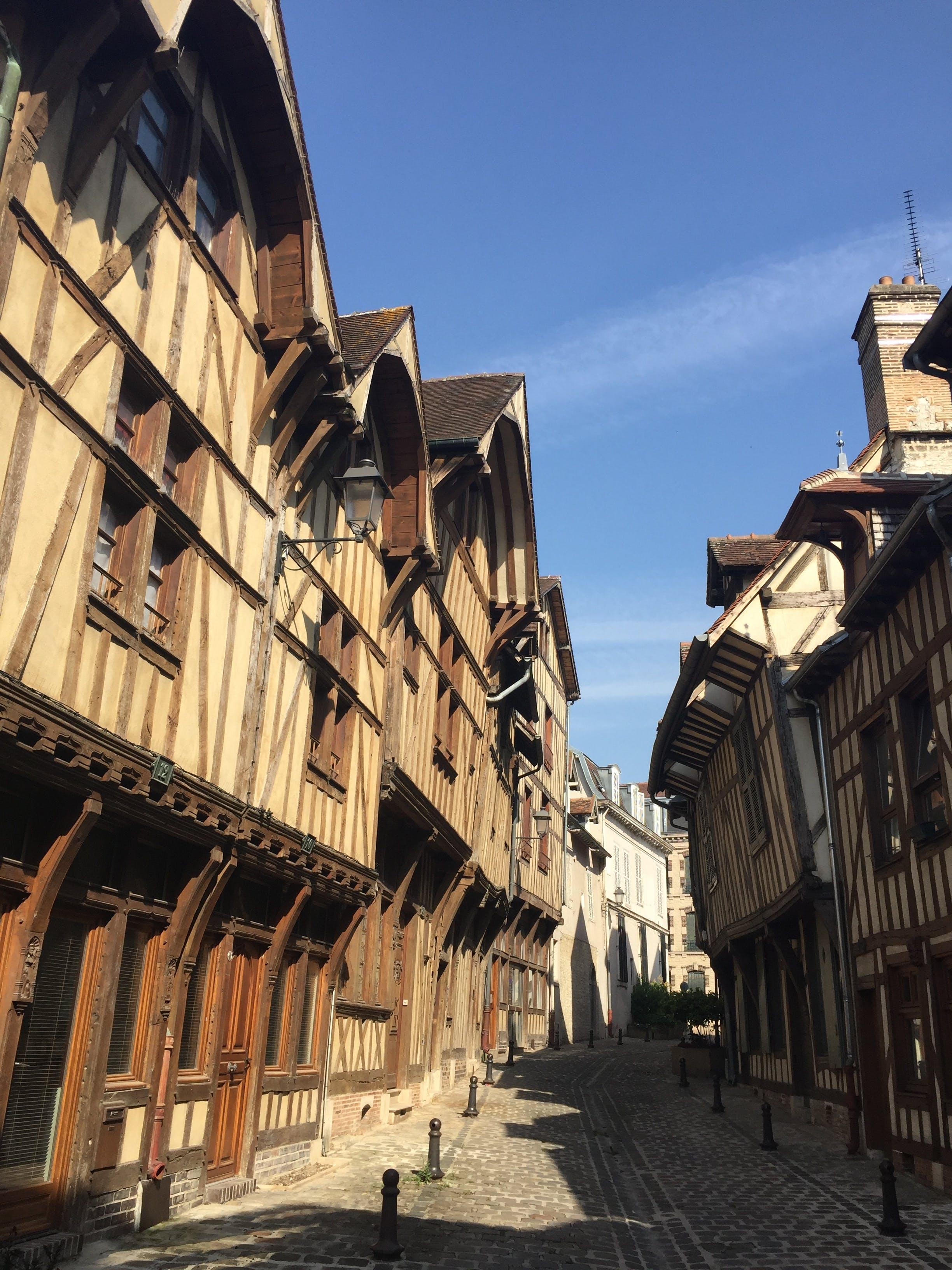 Free stock photo of 16 Century Wooden French Houses