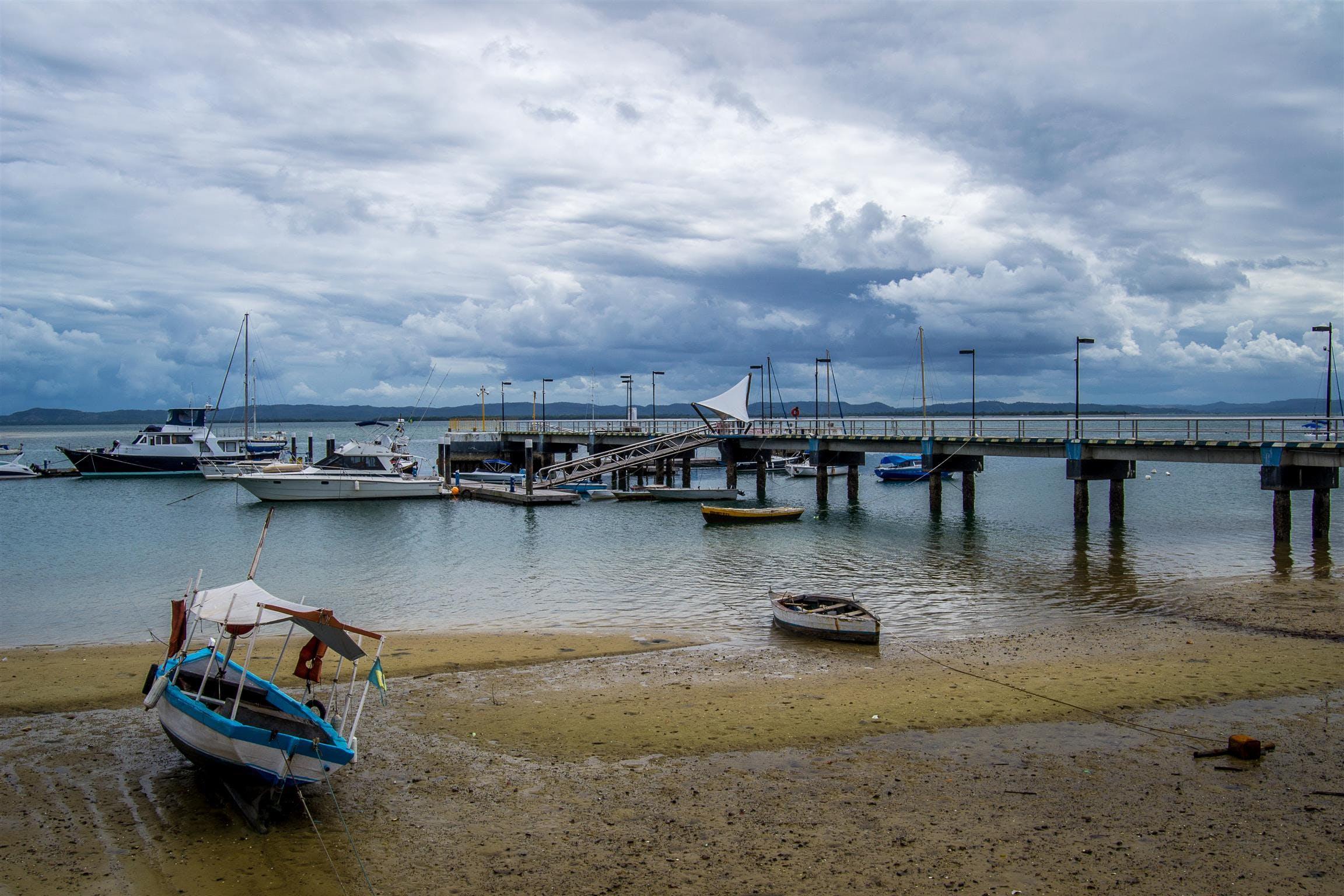 Free stock photo of boat, island, marina