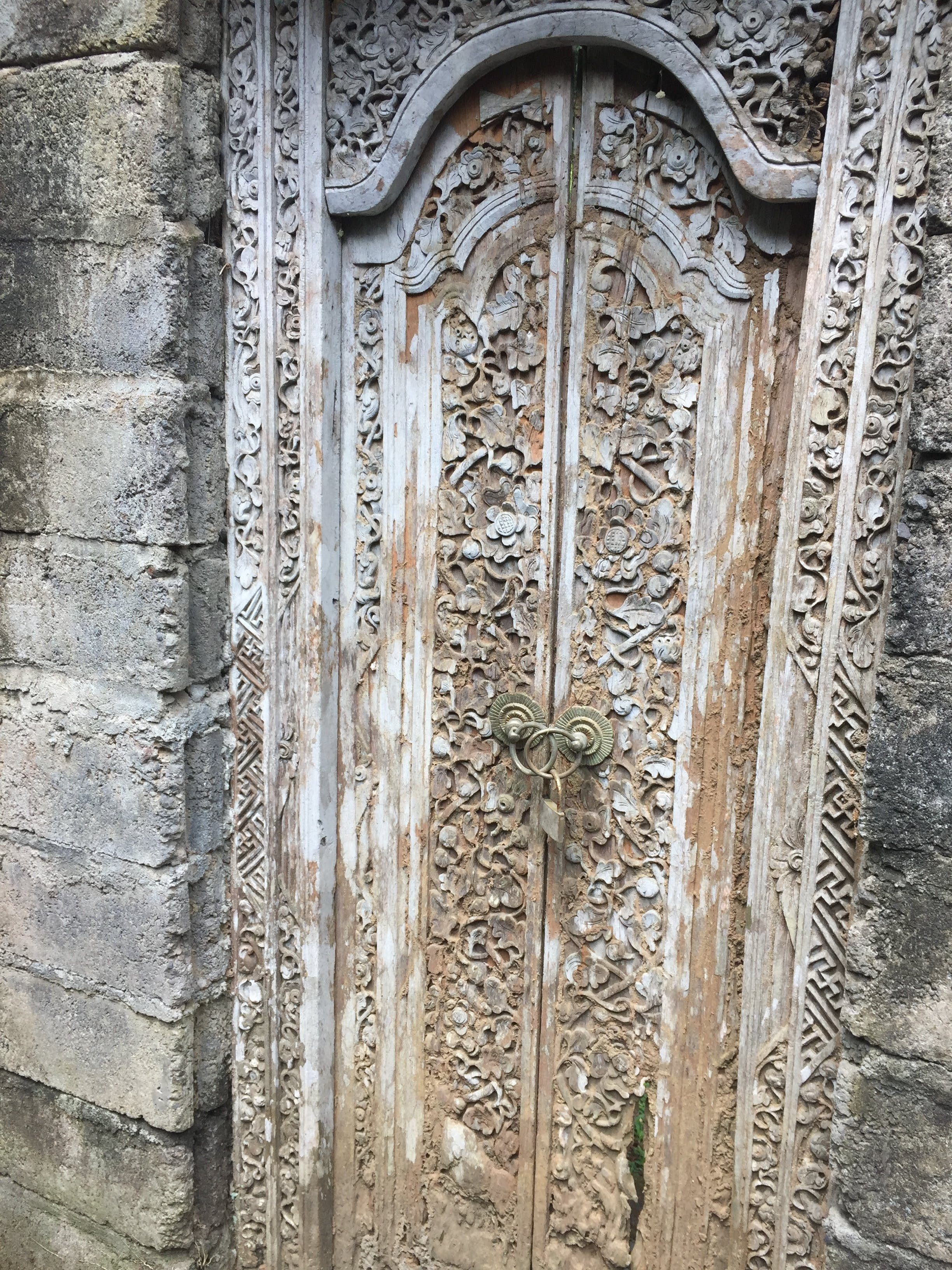 Free stock photo of Wooden carved doors Bali