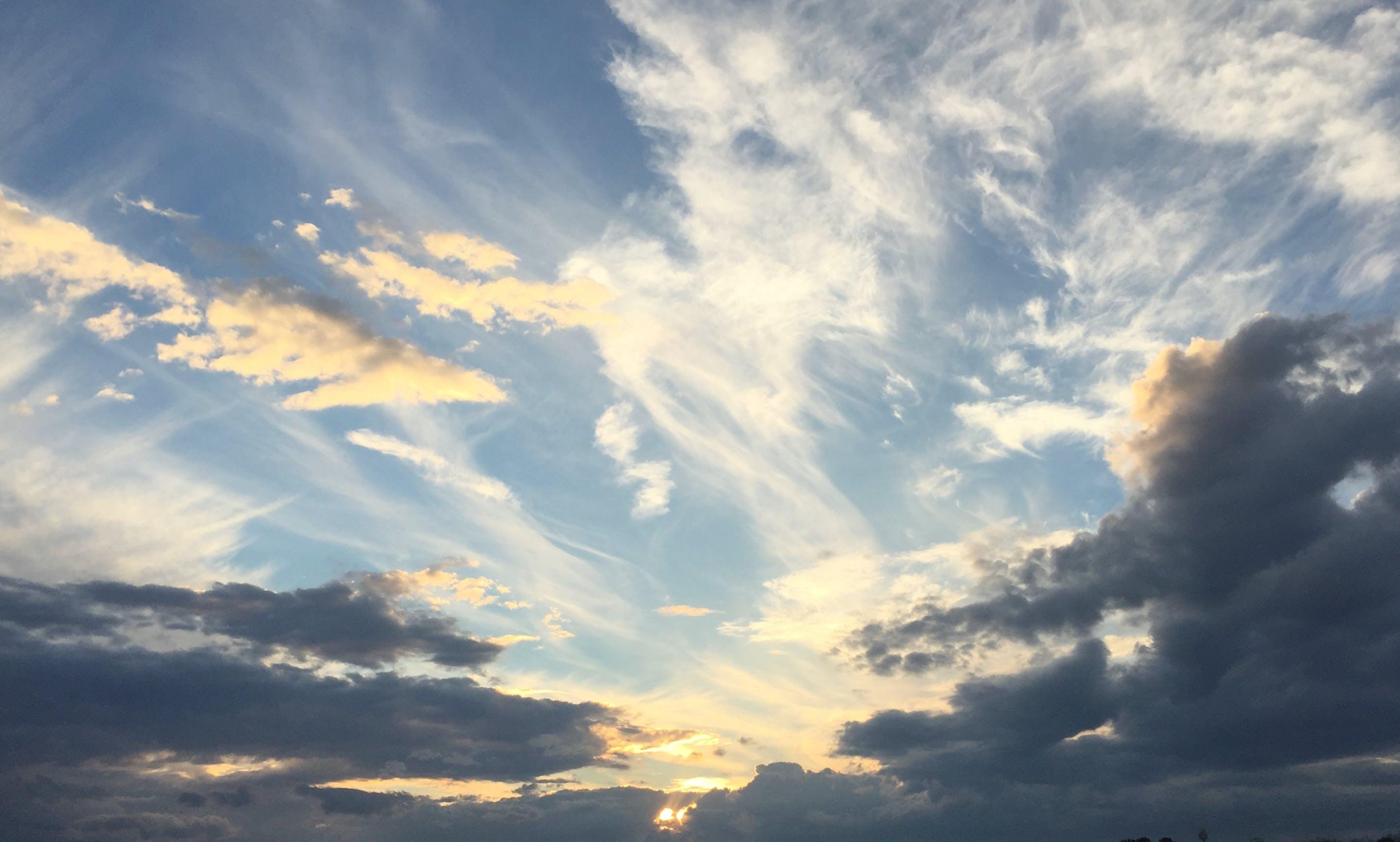 Kostenloses Stock Foto zu natur, himmel, wolken, blauer himmel