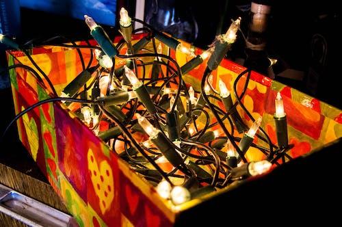 Imagine de stoc gratuită din beculețe, beculețe de crăciun, culori, iluminat