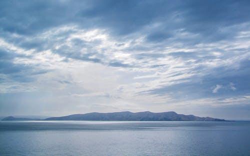 Immagine gratuita di acqua, azzurro, cielo, fotografia grandangolare