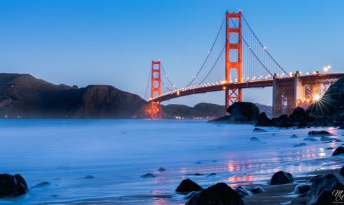 Landscape Photo of San Francisco Golden Gate Bridge