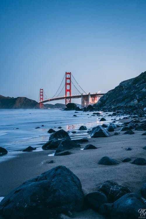 Gratis stockfoto met baai gebied, Golden Gate Bridge, golden gate brug, sf